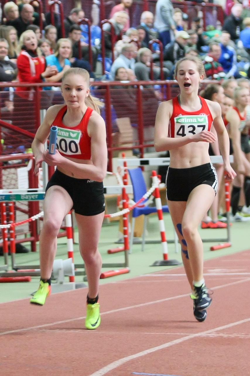 NRW Meisterschaften Staffel Elisa mit NIke